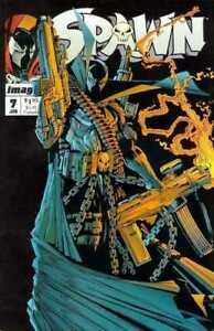 Spawn # 7 Todd MacFarlane  N -Mint 1st Print Image Comics