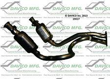 Catalytic Converter-Exact-Fit Front Davico Exc CA 19017