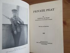 vintage 1917 First Canadian Contingent Veteran Book peat