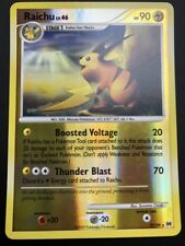 Carte Pokemon RAICHU 27/99 Rare Reverse Platine ARCEUS English NEUF