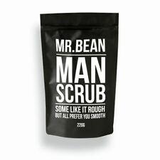 Mr. Bean Man Scrub Coffee Bean Scrub With Organic Coconut Oil & Sea Salt