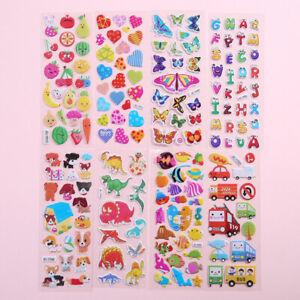 1 Sticker Sheets Kids Stickers Diy Kids Gift Animal Sticker Vinyl Bed Room Decal