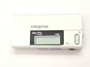 Creative Muvo V100 Audio Digital 1gb MP3 Media Player