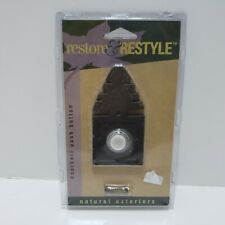 Restore & Restyle Wired Doorbell Push Button Tree Primitive Cabin Replacement