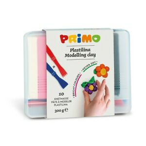 Primo Modelling clay 10 colours 300 g