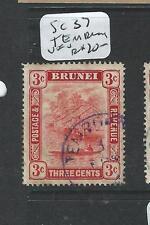 BRUNEI (PP1701B)  3C  SG 37   TEMBURONG   CDS     VFU