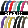 "NEW! WANDA Bicycle Tire 24"" x 2.125 Bike Tire Sidewall Beach Cruiser Bikes"
