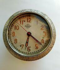 SOVIET RUSSIAN USSR AIRCRAFT TANK CLOCK CHELYABINSK WATCH FACTORY