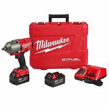 Milwaukee 2863-22 de 1/2 Pulgadas de 18 voltios alto esfuerzo de torsión Anillo de fricción Kit de llave de impacto
