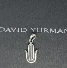 David Yurman Hamsa Amulet Sterling Silver 925 Pendant