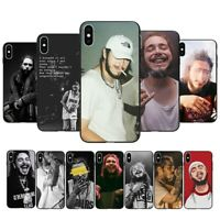Fashion singer Post Malone hip-hop phone case For iPhone 5s 6 7 8 plus XS 11 Pro