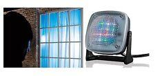 LED TV Simulator Fernseh Attrappe Dummy Einbruchschutz Fake-TV Security Fake-TV