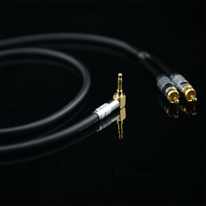 Monster Prolink Standard 100 Audio Cable Stereo 3.5mm to 2 RCA For MP3 CD DVD TV