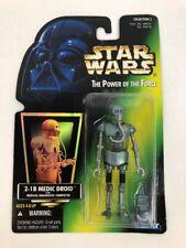 Star Wars POTF Medic Droid 2-1B W/Medical Diagnostic Computer Green Card Kenner