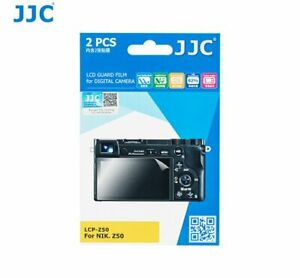 JJC LCP-Z50 LCD Guard Film Screen display Protector for Nikon Z50 camera