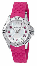 Women's Silicone/Rubber Strap Watches with Date Indicator