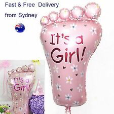 It's a girl Balloon  - Birth Foil - No knot seal - Baby shower decoration