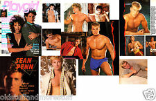 PLAYGIRL 2-86 SEAN PENN SPRINGSTEEN DOLPH LUNDGREN MCCARTNEY HAIRY FEBRUARY 1986