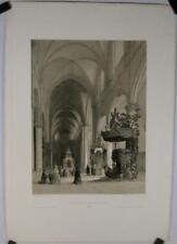 Lithographie de Monthelier, St André,Anvers