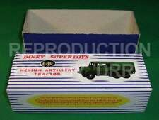 Dinky #689 Medium Artillery Tractor - Reproduction Box by DRRB