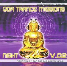 Various Artists-`Goa Trance Missions Vol. 2 Night (Best of Goa Trance, Ac CD NEW
