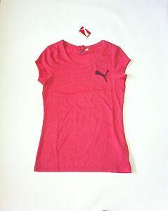 BNWT PUMA Women's short sleeve T-Shirt Sz Small new Heather Red