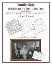 Family Maps Washington County Indiana Genealogy IN Plat