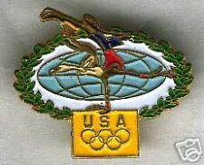 Looney Tunes Wile E Coyote Gymnastics Olympic pin pins