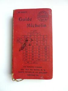GUIDE MICHELIN - 1914