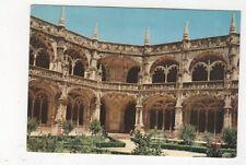 Lisboa Claustros dos Jeronimos Portugal Postcard 445a