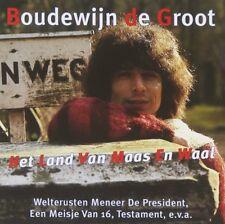 BOUDEWIJN DE GROOT Het Land Van Maas En Waal (1998) CD album NEW