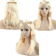 US Cheap Wholesale Party Wig Colorful Synthetic Hair Cosplay Full Wigs White Red