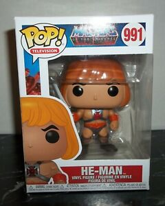 FUNKO POP ! TELEVISION - MASTERS OF THE UNIVERSE - HE-MAN - # 991