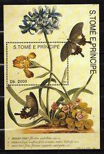 Sao Tomé and Principe : Pollinating butterflies 1993 ( MNH )