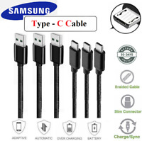 Type C USB-C Cable Fast Charger Data Sync Cord For Samsung LG HTC Android Phone
