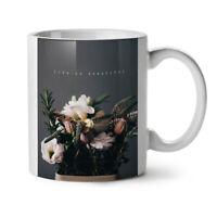 Beautiful Life Art NEW White Tea Coffee Mug 11 oz   Wellcoda