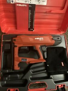 Hilti BX3 Nail Gun And Case Hardly Used