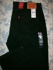 Levis 514 Straight Fit 38x32 Mens Jeans 38 x 32 Faded Black Straight Fit