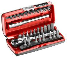 Facom R.180J31 31 Pce Compact 1/4 Bit Set With Flexi Head Ratchet