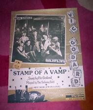SUBWAY SECT POSTER ~ 1981 orig. Vic Godard. Stamp of a Vamp. NM.