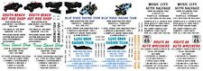 Speed Shop Pick Up Truck Tow Truck 1/32nd Scale Slot Car Decals