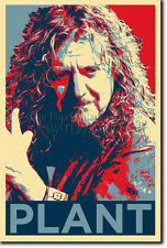 Robert Plant art photo print (Obama Hope) Poster Cadeau