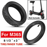 Tire & Inner Tube Inflatable Tyre 8 1/2X2L Black For M365