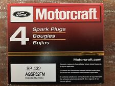 New Set of 8  Motorcraft SP432 Spark Plugs AGSF32FM - PLATINUM PLUG