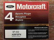 New Set of 8  Motorcraft SP432 Spark Plugs AGSF32FM - PLATINUM PLUG