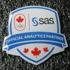 2018 Pyeongchang Winter Olympic SAS COC Analytics Partner Pin