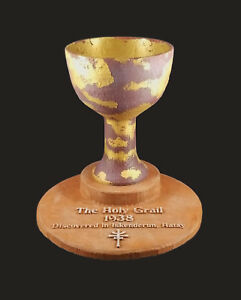 Indiana Jones and the Last Crusade Holy Grail Cup and/or Stand Raiders (choose)