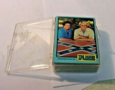 1980 DUKES OF HAZZARD Bubblegum Trading Card Set of 64