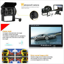 "7"" HD Monitor IR Rear View Backup Camera Night System For Truck Bus Van"