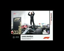 New listing Lewis Hamilton Wins 7th FIA World Title 2020 Topps NOW F1 Formula 1 #13
